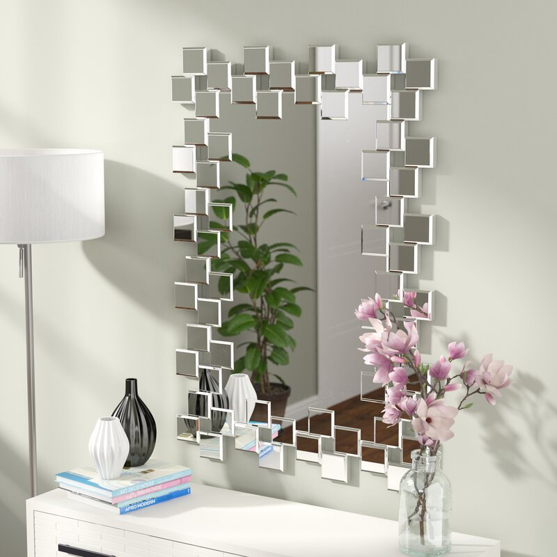 Jacobo Modern & Contemporary Accent Wall Mirror
